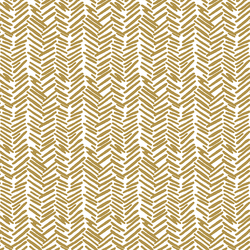 Feathered  Herringbone in Marigold