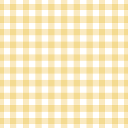 Large Summer Gingham in Afternoon Sunshine