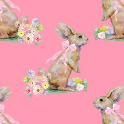 Bunny Tales in Gerbera Pink