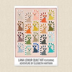 Lana Lemur Quilt Kit