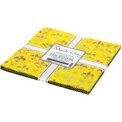 """Mardi Gras Artisan Batiks 10"""" Square Pack"""