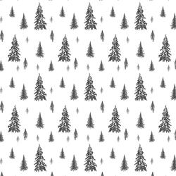 Snowy Pines in Onyx