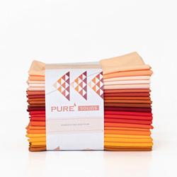 Pure Solids Fat Quarter Bundle in Harvesting