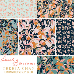 Peach Blossoms Fat Quarter Bundle