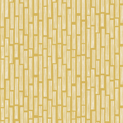 Wood Grain in Yellow Unbleached