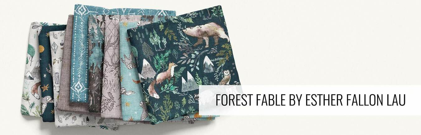 Forest Fable by Esther Fallon Lau