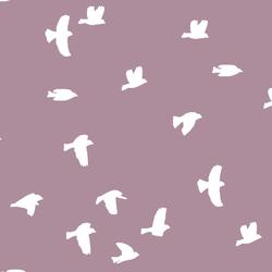 Flock Silhouette in Celestial