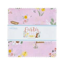 "Easter Egg Hunt 5"" Square Pack"