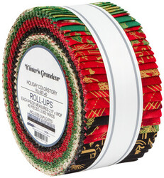Winter's Grandeur Roll Up in Holiday Colorstory