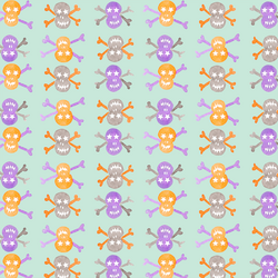 Skulls in Minty