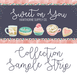 Sweet On You Sample Strip