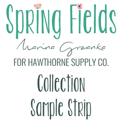 Spring Fields Sample Strip
