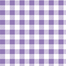 Medium Buffalo Plaid in Amethyst