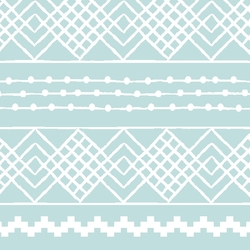 Etched Stripe in Glacier Blue