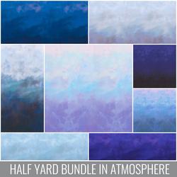 Sky Half Yard Bundle in Atmosphere