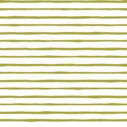 Artisan Stripe in Zest on White