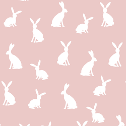 Cottontail Silhouette in Blush