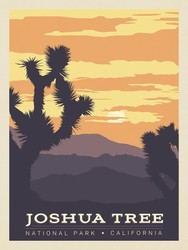 Poster Panel in Joshua Tree
