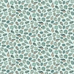 Shells in Pale Aqua