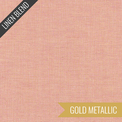Essex Yarn Dyed Metallic in Rose
