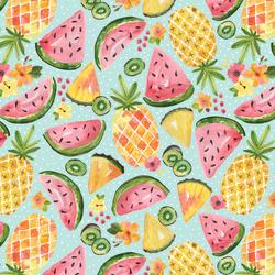 Fruit in Fresh Aqua