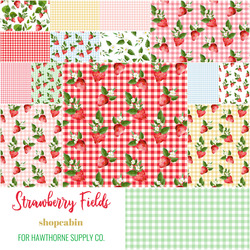 Strawberry Fields Fat Quarter Bundle