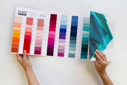 Pure Solids Color Card Panel in Swatches