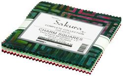 Artisan Batiks Charm Squares in Sakura