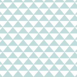 Triangle Mosaic in Glacier Blue