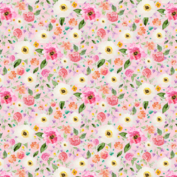 Small Sweet Treat Floral in Bubble Gum