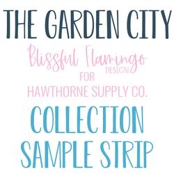 The Garden City Sample Strip