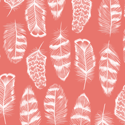 Plume in Living Coral