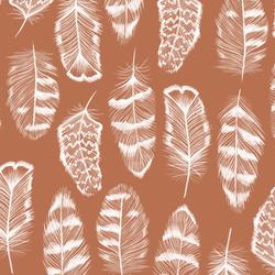 Plume in Terracotta
