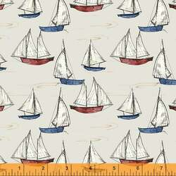 Sailboats in Cotton