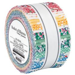"Basket of Blooms 2.5"" Strip Roll"