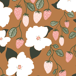 Strawberry Magnolias in Rosewood