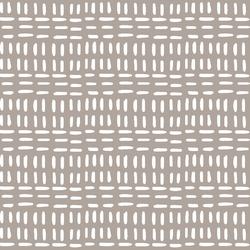 Stitched in Taupe