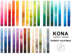 Kona Solid Color Card Panel in Swatches