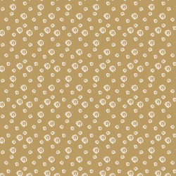 Sketched Dot in Bisque in Golden