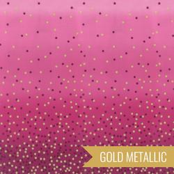 Ombre Confetti Metallic in Magenta