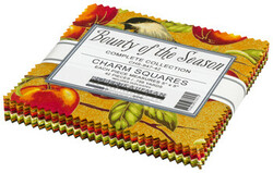 Bounty of the Season Charm Squares