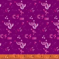 Aerial Embellishment in Purple
