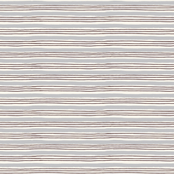 Painterly Stripes in Lilac