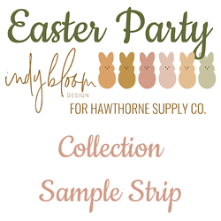 Easter Party Sample Strip
