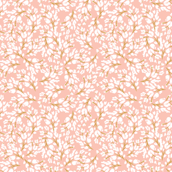 Frost Floral in Blush Rose