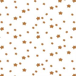 Star Light in Ginger on White