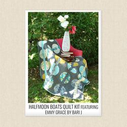 Halfmoon Boats Quilt Kit