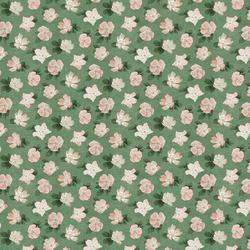 Briar Floral in Fern Green