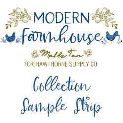Modern Farmhouse Sample Strip