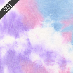 Unicorn Tie Dye in Purple Sky & Pink